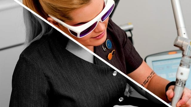 Laserbehandlingar